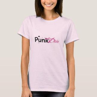 Camisa do divertimento da diva do punk