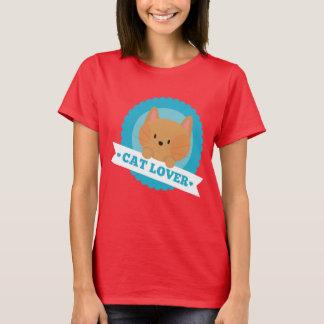 Camisa do divertimento do amante do gato