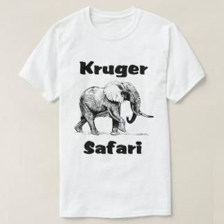 Camisa do elefante de Bull T do safari de Kruger
