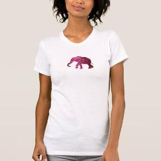 Camisa do elefante T com brilho T-shirt