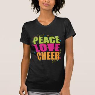 Camisa do elogio do amor da paz
