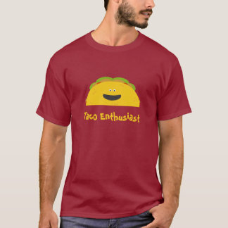 Camisa do entusiasta do Taco