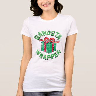 Camisa do envoltório de Gangsta do vintage