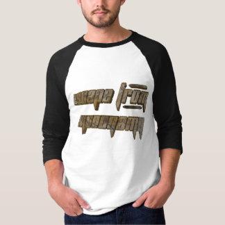 Camisa do escape T dos homens