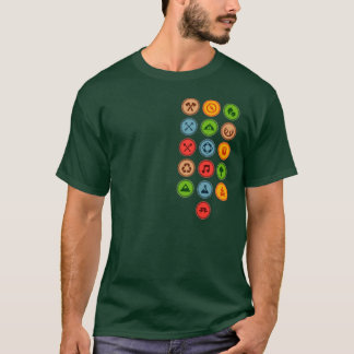 Camisa do escuteiro