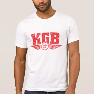 Camisa do espião do logotipo do vintage KGB