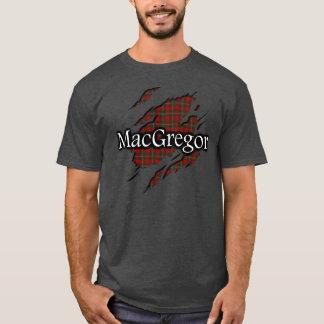Camisa do espírito do Tartan de MacGregor do clã
