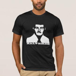 Camisa do estêncil de Jesus Malverde