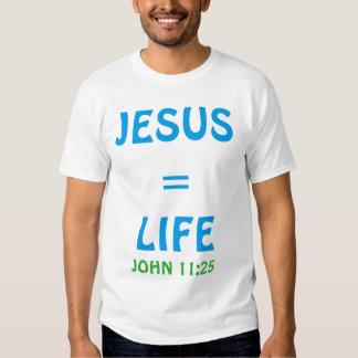 Camisa do evangelismo da vida e da morte t-shirts