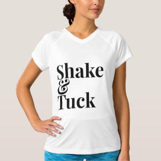 Camisa do exercício da agitação & da dobra da