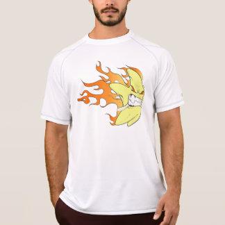 Camisa do exercício da luva da camisa da estrela