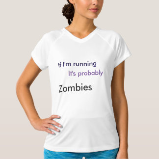 Camisa do exercício (que funciona dos zombis)