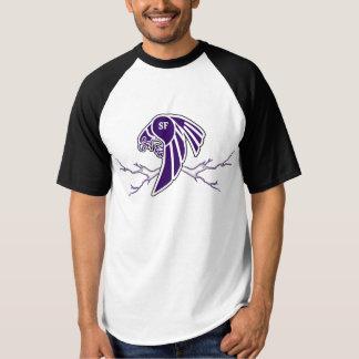 Camisa do falcão com relâmpago