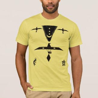 Camisa do fantasma do nativo americano