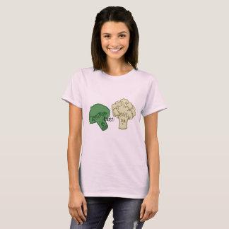 Camisa do fantasma dos brócolos e da couve-flor