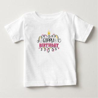 Camisa do feliz aniversario