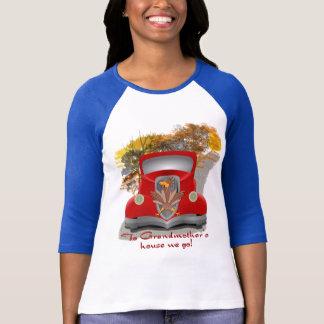 Camisa do feriado da casa da avó
