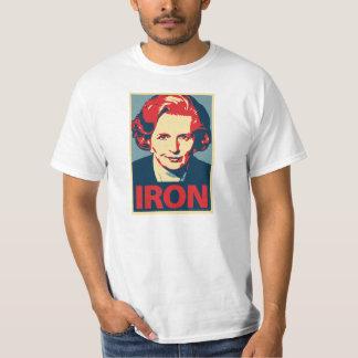 "Camisa do ""ferro"" de Margaret Thatcher"