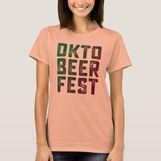 Camisa do Fest T do oktober de Funnt do Fest da
