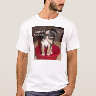 Camisa do filhote de cachorro T da chihuahua,
