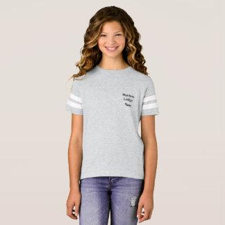 Camisa do futebol americano das meninas