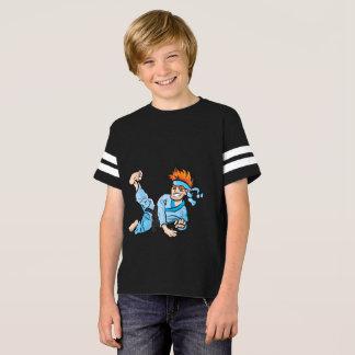 Camisa do futebol americano dos miúdos, com miúdo