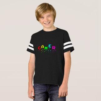 Camisa do futebol americano dos miúdos do GAMER