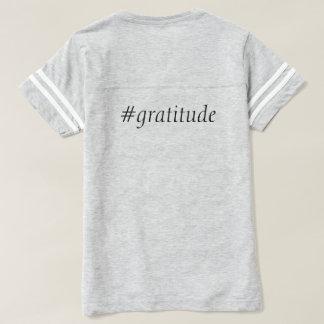 Camisa do futebol do #gratitude