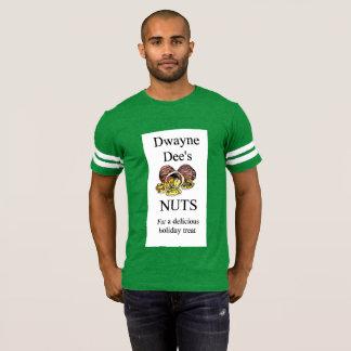 Camisa do futebol do Natal dos loucos de Dwayne