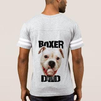 Camisa do futebol do pai do cão do pugilista
