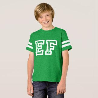 Camisa do futebol dos miúdos