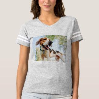 Camisa do futebol T do FoxHound americano