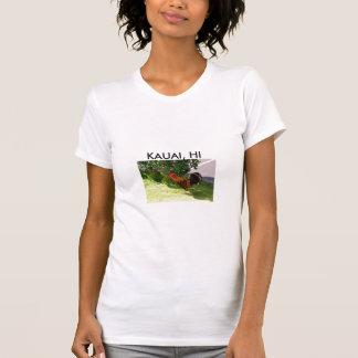 Camisa do galo de Kauai Camiseta