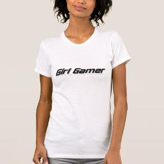 Camisa do gamer T da menina