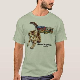 Camisa do gatinho de A-Kerr sombreada