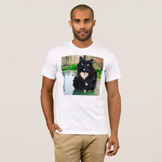 Camisa do gatinho T dos homens