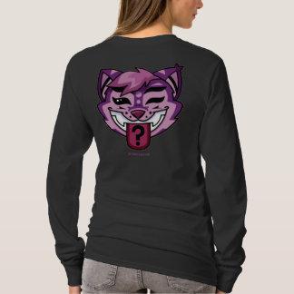 camisa do gato de cheshire