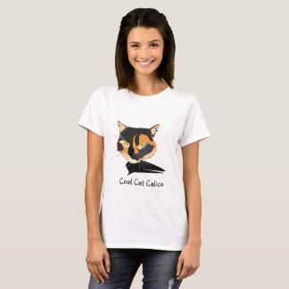 Camisa do gato de chita