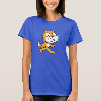 Camisa do gato do risco (mulheres)