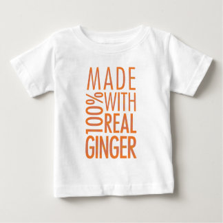 Camisa do gengibre