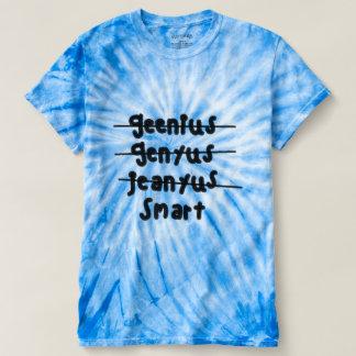 camisa do gênio do Mau-speller