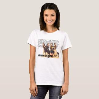 Camisa do german shepherd
