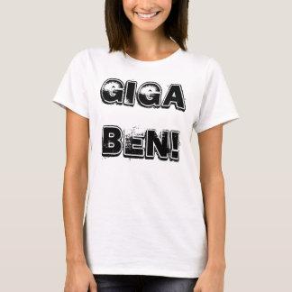 Camisa do Gigaben das mulheres Camisetas