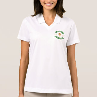 Camisa do golfe das mulheres
