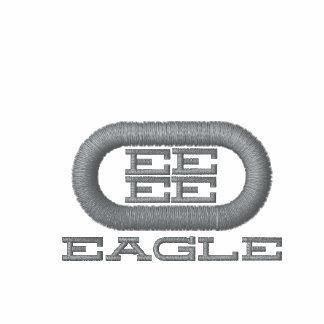 Camisa do golfe de EAGLE Camiseta Bordada Polo