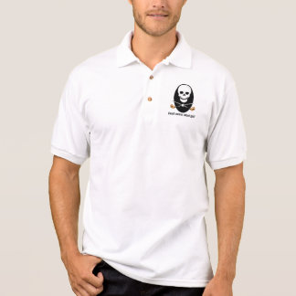 Camisa do golfe - design sério inoperante do bolso