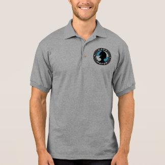 Camisa do golfe do logotipo do MOTOR de RAPP