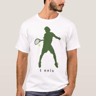 Camisa do golpe t do tênis