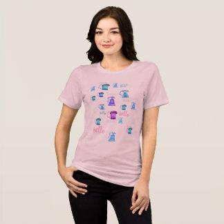 Camisa do gráfico da ilustração do telefone