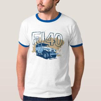 Camisa do gráfico do 2-Tom da camisa de FJ40 T-shirts